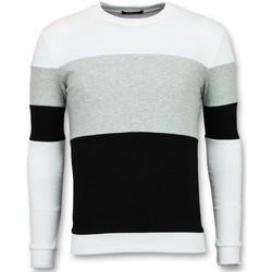 Textiel Heren Sweaters / Sweatshirts Enos Striped Sweater Heren - Online Streep Truien Kopen 35
