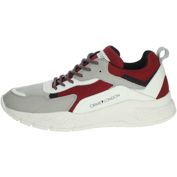 Schoenen Heren Lage sneakers Crime London 11527PP1.71 Grey/Red