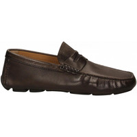 Schoenen Heren Mocassins Brecos VITELLO cioccolato