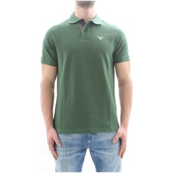 Textiel Heren Polo's korte mouwen Barbour BAPOL0119 Green