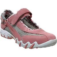 Schoenen Dames Lage sneakers Allrounder by Mephisto NIRO FILET Nubuck roze
