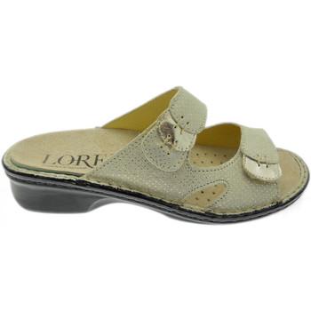 Schoenen Dames Leren slippers Calzaturificio Loren LOM2772op grigio