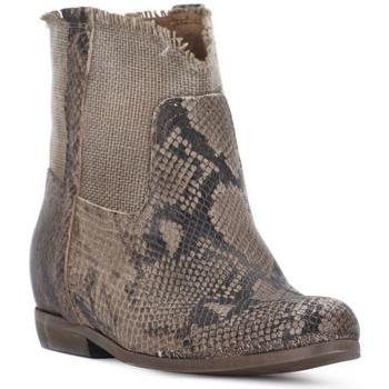 Schoenen Dames Hoge laarzen Priv Lab PITONE ROCCIA Bianco