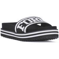Schoenen Dames slippers Fornarina BEACH 2 BLACK Nero