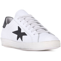 Schoenen Heren Lage sneakers At Go GO VITELLO BIANCO Bianco
