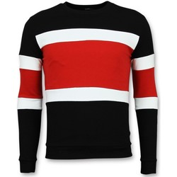 Textiel Heren Truien Enos Striped Sweater Mens  - Goedkope Heren Truien 8