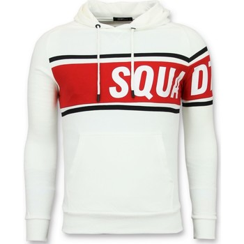 Textiel Heren Sweaters / Sweatshirts Enos Trui Met Capuchon - Te Hoodie - Wit