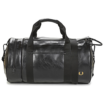 Tassen Heren Sporttas Fred Perry TONAL BARREL BAG Zwart