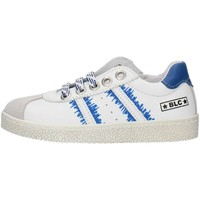 Schoenen Jongens Lage sneakers Balocchi 491699 White and blue