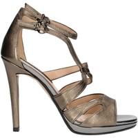 Schoenen Dames Sandalen / Open schoenen Bacta De Toi 336 Gunmetal