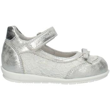 Schoenen Meisjes Ballerina's NeroGiardini P921050f Silver