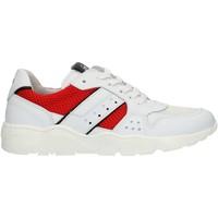 Schoenen Jongens Lage sneakers Nero Giardini P933572M White and red