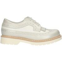 Schoenen Meisjes Derby Nero Giardini P732080F Pearl White