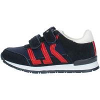 Schoenen Jongens Lage sneakers Lumberjack SB47505 Blue and red
