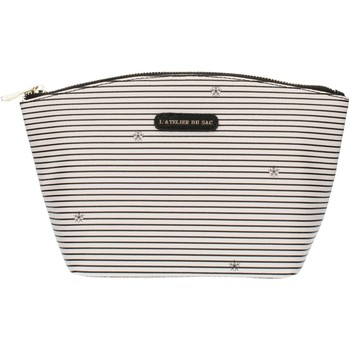 Tassen Dames Etuis Pash Bag 8385Gisele Ice with black stripes