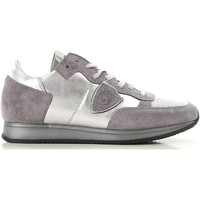 Schoenen Dames Lage sneakers Philippe Model TRLD ME02 argento