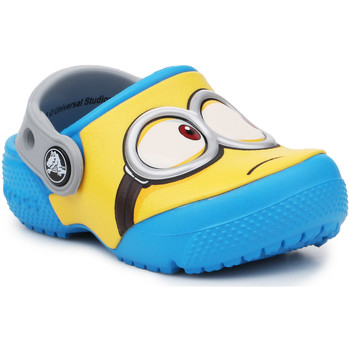 Schoenen Kinderen Klompen Crocs Crocsfunlab Minions Clog 204113-456 yellow, blue