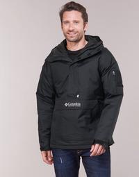 Textiel Heren Wind jackets Columbia CHALLENGER PULLOVER Zwart