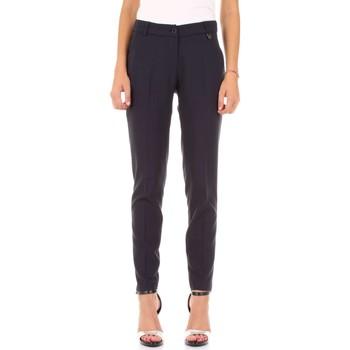 Textiel Dames Losse broeken / Harembroeken Fly Girl 30023-07 Blu