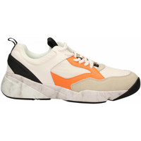 Schoenen Heren Lage sneakers Cromier TECNOnylon white-orange