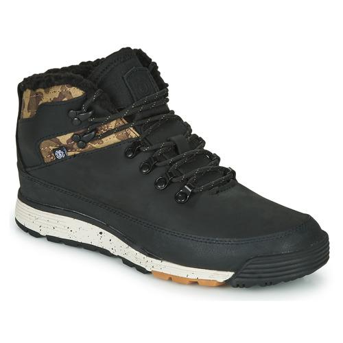 Schoenen Heren Laarzen Element DONNELLY Zwart / Camouflage