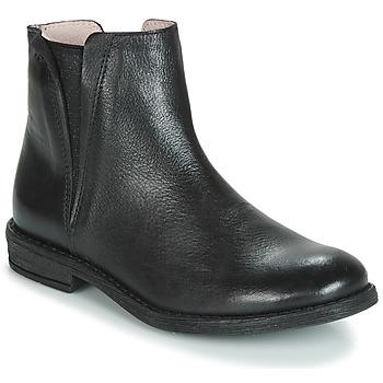 Schoenen Meisjes Laarzen Acebo's 9671-NEGRO-T Zwart