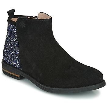 Schoenen Meisjes Laarzen Acebo's 8035-NEGRO Zwart