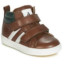 Schoenen Jongens Hoge sneakers Acebo's 3040-CUERO-C Bruin