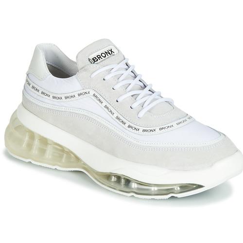 Schoenen Dames Lage sneakers Bronx BUBBLY Wit