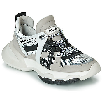 Schoenen Dames Lage sneakers Bronx SEVENTY STREET Grijs / Wit / Zwart