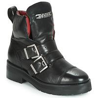 Schoenen Dames Laarzen Bronx GAMLETT Zwart