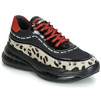 Schoenen Dames Lage sneakers Bronx BUBBLY Zwart