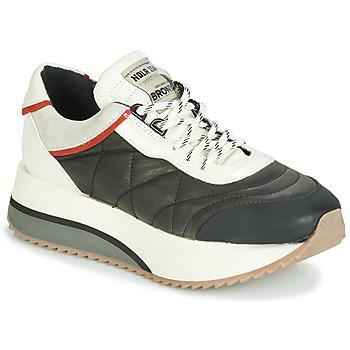 Schoenen Dames Lage sneakers Bronx NOLA ISA Zwart / Grijs