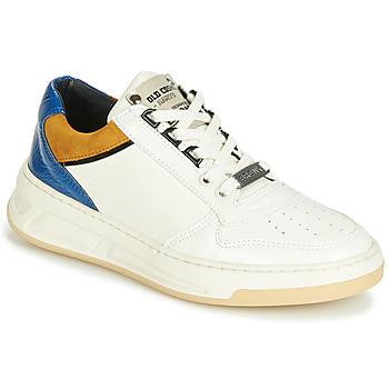 Schoenen Dames Lage sneakers Bronx OLD COSMO Wit / Oker / Blauw