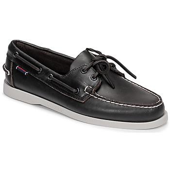 Schoenen Heren Bootschoenen Sebago DOCKSIDE PORTLAND Bruin