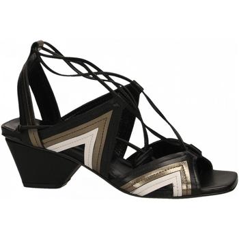 Schoenen Dames Sandalen / Open schoenen Fiori Francesi BATIK nero