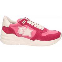 Schoenen Dames Lage sneakers Atlantic Stars VENUS rosso-rosa