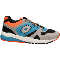 Schoenen Heren Lage sneakers Lotto MARATHON BLOCK 1yd-gray--black-blue