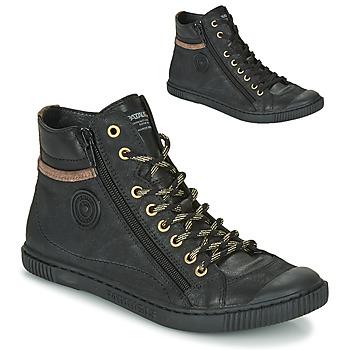 Schoenen Dames Hoge sneakers Pataugas BONO Zwart