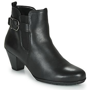 Schoenen Dames Enkellaarzen Gabor 3564127 Zwart