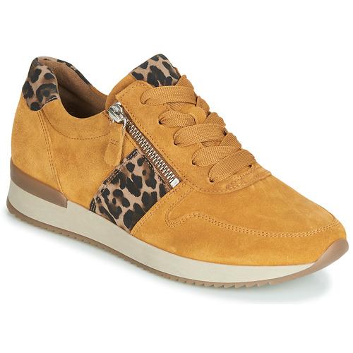 Schoenen Dames Lage sneakers Gabor 3342010 Mosterd