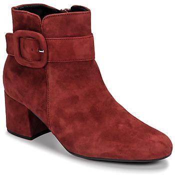 Schoenen Dames Enkellaarzen Gabor 3581610 Rood