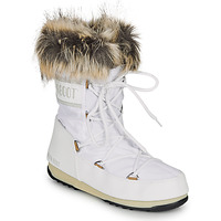 Schoenen Dames Snowboots Moon Boot MOON BOOT MONACO LOW WP 2 Wit