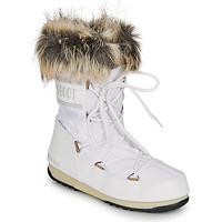 Schoenen Dames Snowboots Moon Boot MOON BOOT MONACO LOW WP 2 Wit