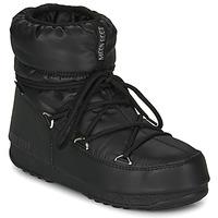 Schoenen Dames Snowboots Moon Boot MOON BOOT LOW NYLON WP 2 Zwart