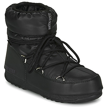 Schoenen Dames Snowboots Moon Boot MOON BOOT LOW NYLON WP 2 Zwart