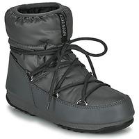 Schoenen Dames Snowboots Moon Boot MOON BOOT LOW NYLON WP 2 Grijs