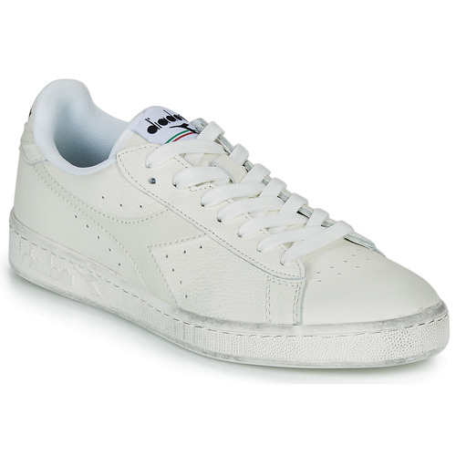 Schoenen Lage sneakers Diadora GAME L LOW WAXED Wit