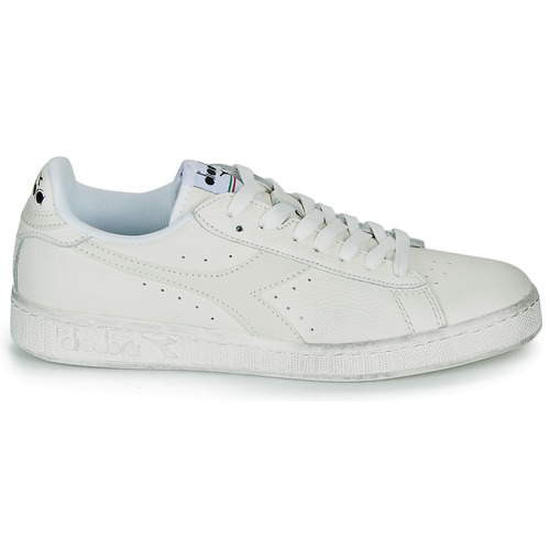 Game L Low Waxed Diadora Lage Sneakers Wit 0P2dXeKP