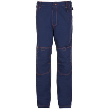 Textiel Heren Straight jeans Sols SECTION PRO MULTI WORK Azul